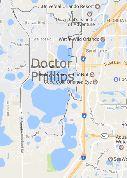 Dr Phillips Map Search